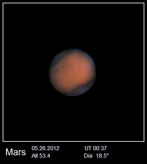 Mars at 05.26.2016,                                Odair Pimentel Ma...