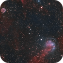 Heckathorn-Fesen-Gull 1 (HFG1) and Abell 6,                                Chuck's Astrophot...