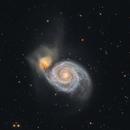 M51 - Whirlpool Galaxy - Cropped Version,                                Elvie1