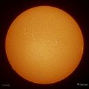 Sun, AR 12715, AR 12713,                                Damien Cannane