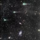 c/2017 T2 (Panstarrs) near M81 & M82 - 3 days follow up - colored version,                                andrealuna