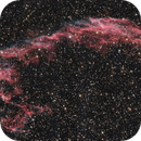 NGC 6992 in Cygnus,                                Nurinniska
