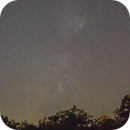 Nightscape at the River Ridge Observatory in Central Arkansas,                                slookabill
