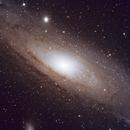 First Go at the Andromeda Galaxy,                                HixonJames