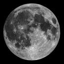Moon Mosaik 80mm ED Skywatcher,                                Uwe Meiling