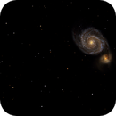 Whirlpool Galaxy (M51) and NGC 5195,                                Roger Menard