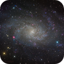 M33 LRGB,                                Kevin Morefield