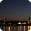 Venus-Jupiter-Conjunction over the City of Mainz,                                Joachim