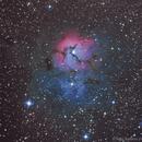Trifid Nebula - Messier 20, NGC 6514 ,                                Tiago Ramires Domezi
