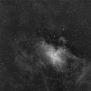 Messier 16 / Adlernebel in H alpha,                                Arne Krack