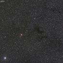 Barnard's E - B142 + B143 Dark Nebula,                                David Cocklin