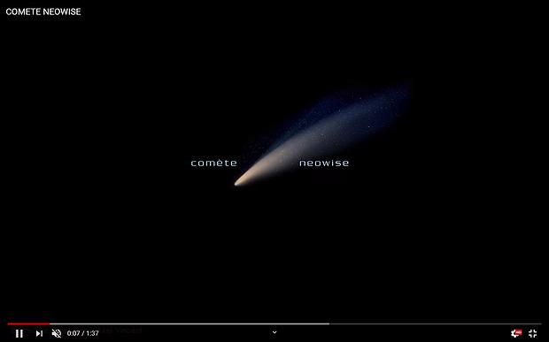 NeoWise Comet (short movie),                                Frédéric Tapissier