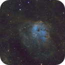 IC410 with SHO,                                bawind Lin