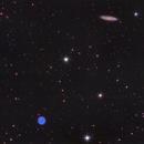 M108 and Owl nebula,                                Jeff Signorelli