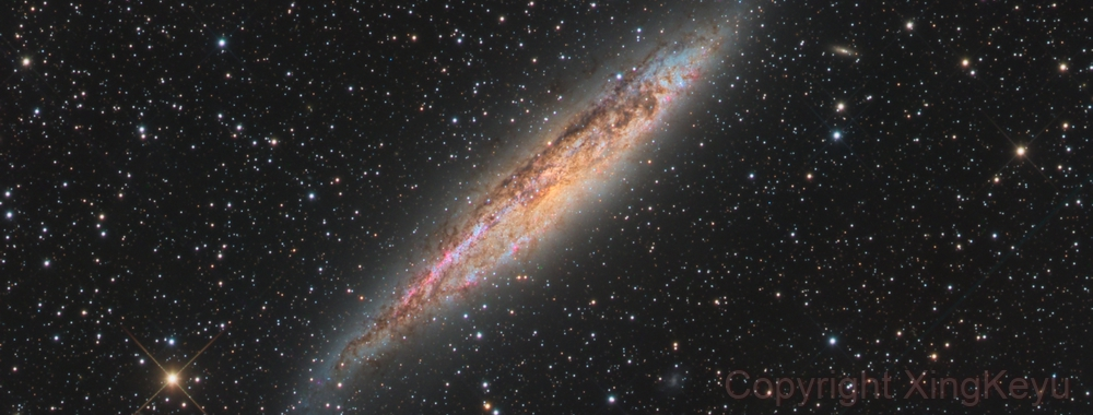 NGC4945,                                Xing Keyu