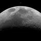 Crescent Moon and Venus to scale,                                Dzmitry Kananovich