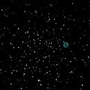 Planetary NGC 2438,                                Lightbeam