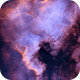 North America Nebula,                                Rich Sky