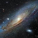 M31 Mosaic - Eight Frames of the Great Andromeda Galaxy,                                Jay Ballauer