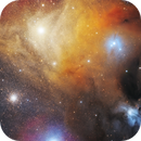 Antares in the Cloud of Rho Ophiuchi,                                Adam Jesionkiewicz
