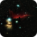 Horsehead and Flame Nebula,                                André Wiget