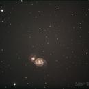 Messier 51,                                Steve Bouvier