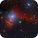 NGC 2024 and B 33 - The Flame and Horsehead Nebulae,                                Eshan Toorabally