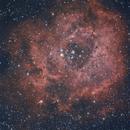 Nebulosa Roseta desde o Carballiño - Ourense,                                ourenseastronomico