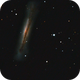 NGC3628 triplet du Lion,                                christophe