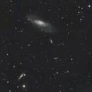 M106 + NGC4217 and others,                                Eric MAZALEYRAT