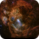 Lobster Nebula NGC 6357 SHO,                                Ben