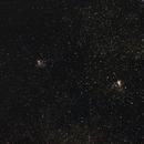 NGC 6611, NGC 6618,                                Penko Jordanov