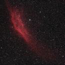 California Nebula in RGB,                                mlewis