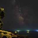 Milky over Murter and Kornati islands,                                Miroslav Horvat