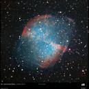 M27,  The Dumbbell nebula,                                Exaxe