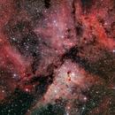 Carina Nebula,                                Alberto Hevia