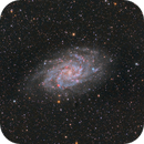 Messier 33: The Triangulum Galaxy,                                James Schrader