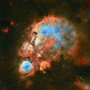 Cat's Paw Nebula HOO,                                litobrit