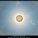Sun in HA and Sun Halo,                                rigel123