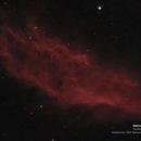 NGC1499 - The California Nebula,                                Tom Harbin