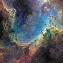 IC1805 Close-up - Heart Canyon,                                John Ebersole