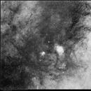M8 and M20 complex Sagitarius -  Schmidt camera,                                rmarcon