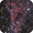 Part of NGC 6960,                                Patrick Chevalley