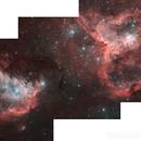 Star-forming region of the Heart and Soul nebulae (Dati Digitized Sky Survey Poss II),                                Gianluca Belgrado