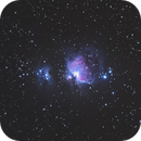 M42 on Star Adventurer (1RAW),                                Maxime Oudoux