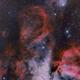 NGC 3372 Carina zone - NGC 3293 - NGC 3324 - IC 2599 Gabriela Mistral Nebula,                                Michel Lakos M.