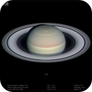 Saturn from Chilescope, 8 September 2018,                                Dzmitry Kananovich