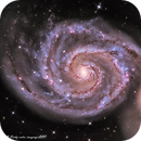 M51 whirlpool galaxy , M51 , messier 51,                                Richy Astro Imaging LLC
