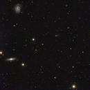 Deux galaxies perdues et M49,                                Francis Moreau