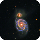 M51 - How to visualize Near Infrared light?,                                Andreas Dietz